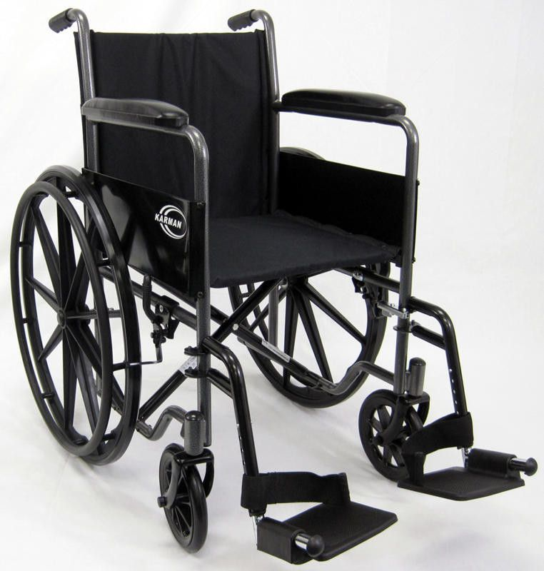 lightweight transport chair with removable arms
