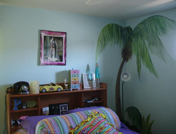 Palm Tree Wall Murals Bedroom