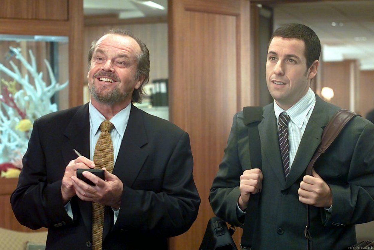 Jack Nicholson & Adam Sandler in Anger Management Comedy