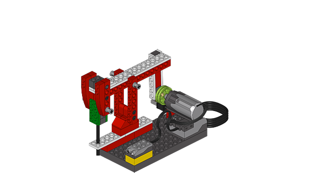 LEGO WeDo construction robot instruction lesson plan ...
