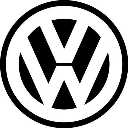 free vector vector logo volkswagen logo logo pinterest broderie appliqu et dessin. Black Bedroom Furniture Sets. Home Design Ideas