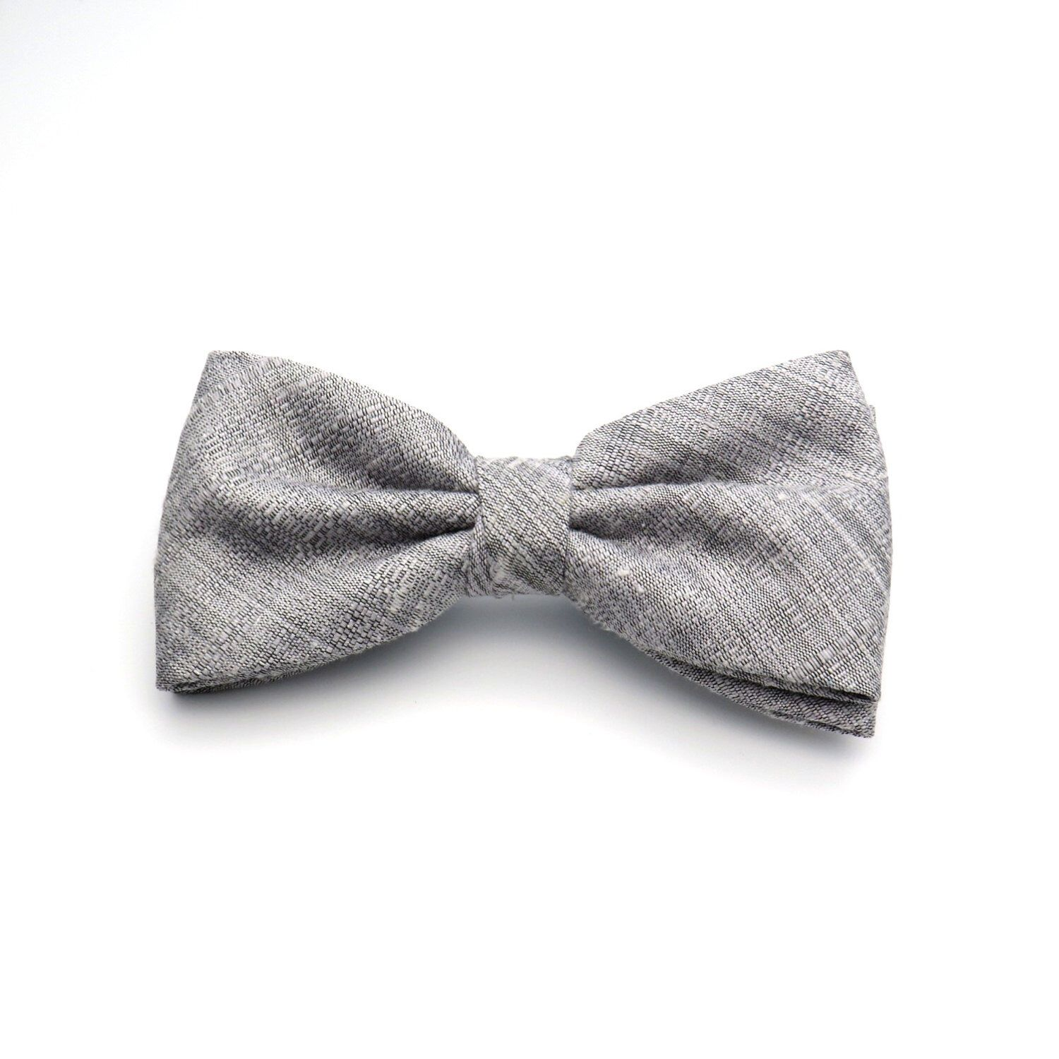 Boy Kids Children Toddler Infant Solid Bowtie Pre Tied Wedding Bow Tie Necktie