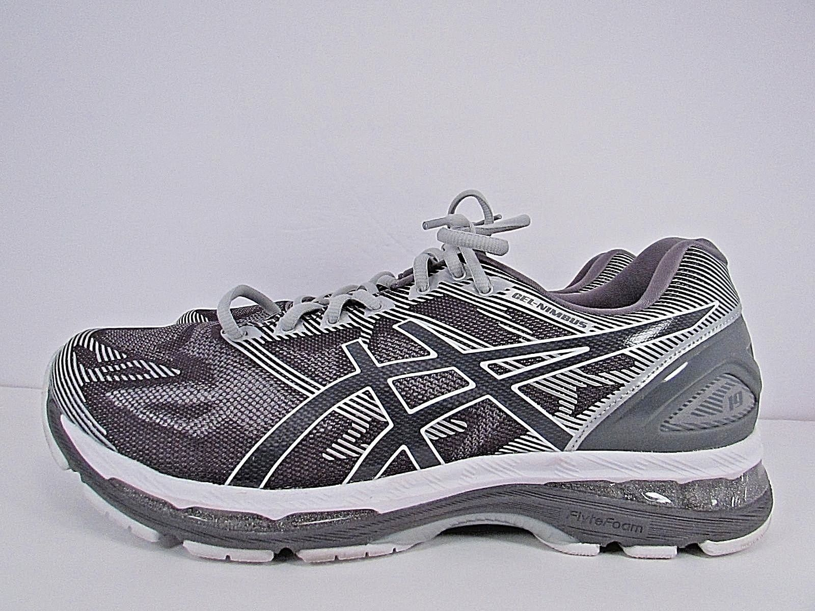 huge selection of 7ca0a bcfb9 MENS ASICS GEL NIMBUS 19 SIZE 12 (4E) EXTRA WIDE ! WORN ...