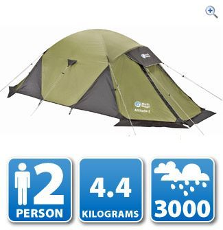 North Ridge Altitude 2 Mountain Tent | GO Outdoors  sc 1 st  Pinterest & North Ridge Altitude 2 Mountain Tent | GO Outdoors | Products I ...