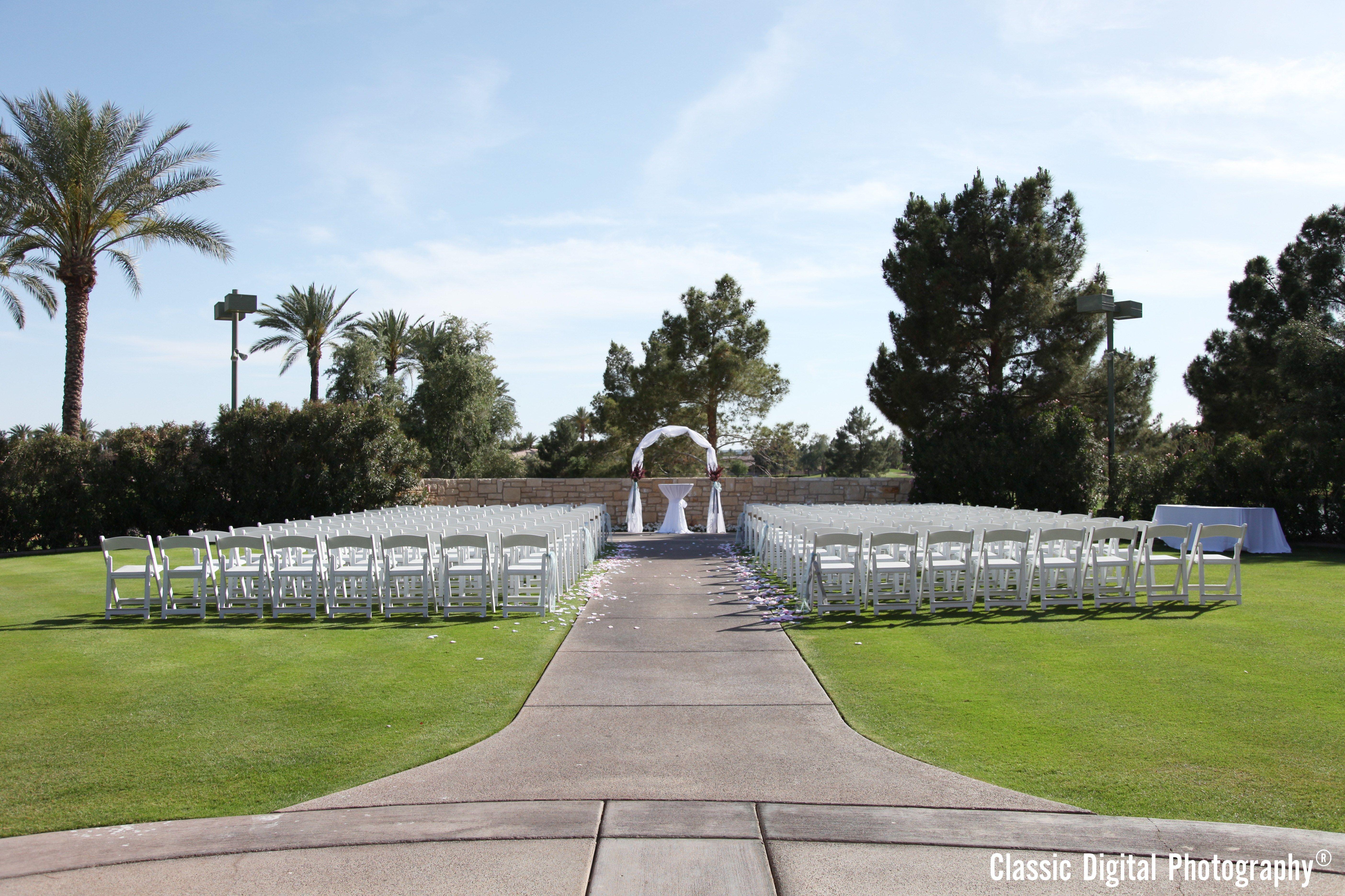 Upper Ceremony Lawn At Ocotillo Golf Resort