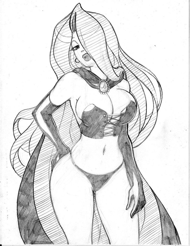 jessica rabbit pin up pencils for ink or color by joeoiii on