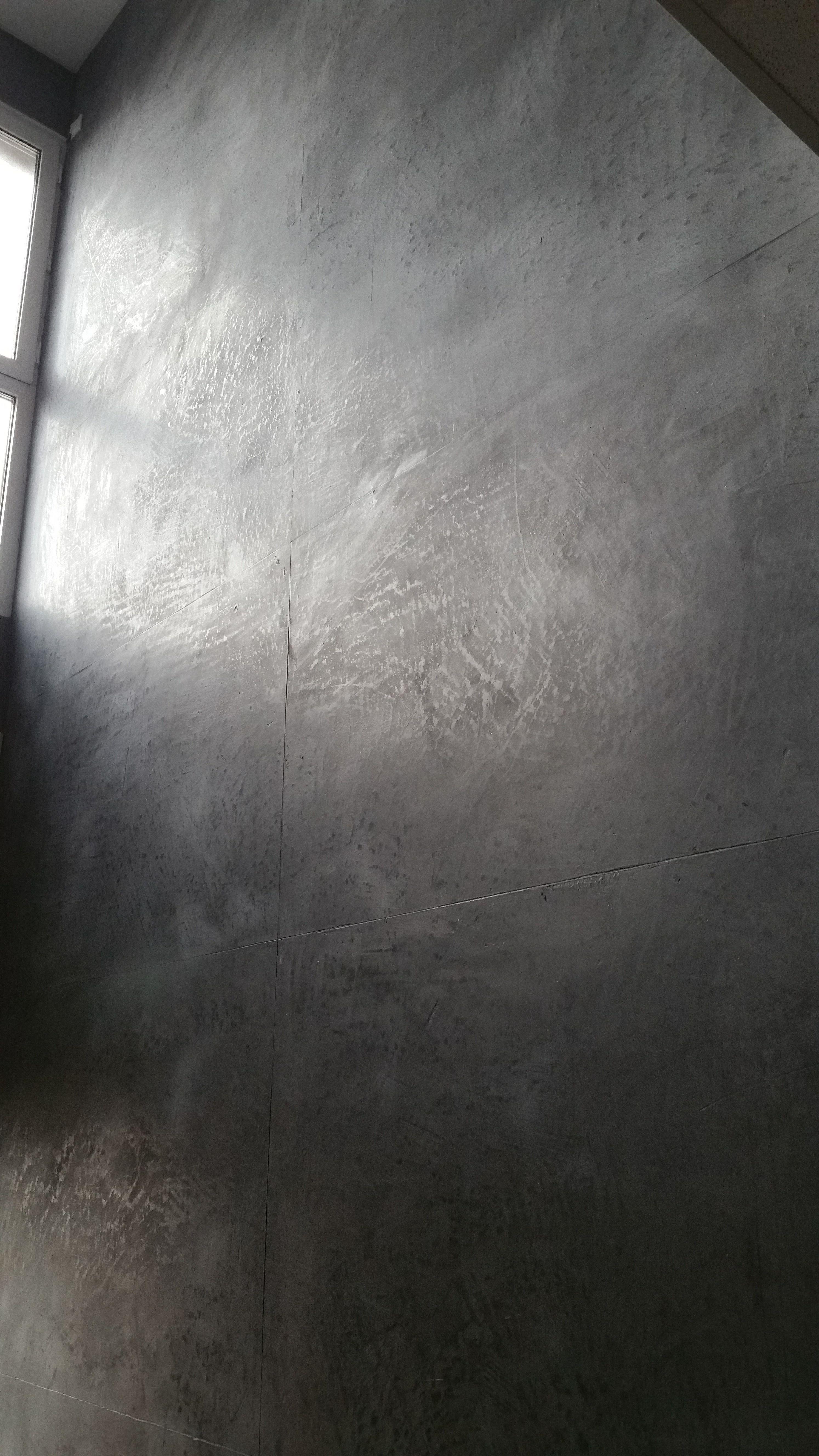 Schoner Wohnen Mit Betonoptik In Lippstadt Kreis Soest Betonoptik Mit Kalkputz Keine Farbe Und Keine Tapete Wande Mit Betonoptik Wandgestaltung Moderne Wand