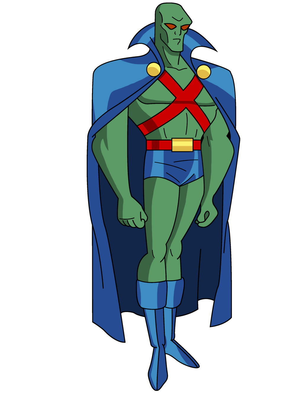 Martian Manhunter By Thomascasallas On Deviantart Martian Manhunter Martian Manhunter Justice League Marvel Comics Vintage