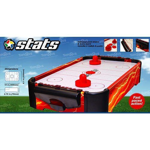 Stats 16 Inch Air Hockey Game By Toys R Us 9 98 Enjoy The Fast Paced Action Of Stats 16 Inch Table Top Air Hockey The Air Air Hockey Games Air Hockey Games