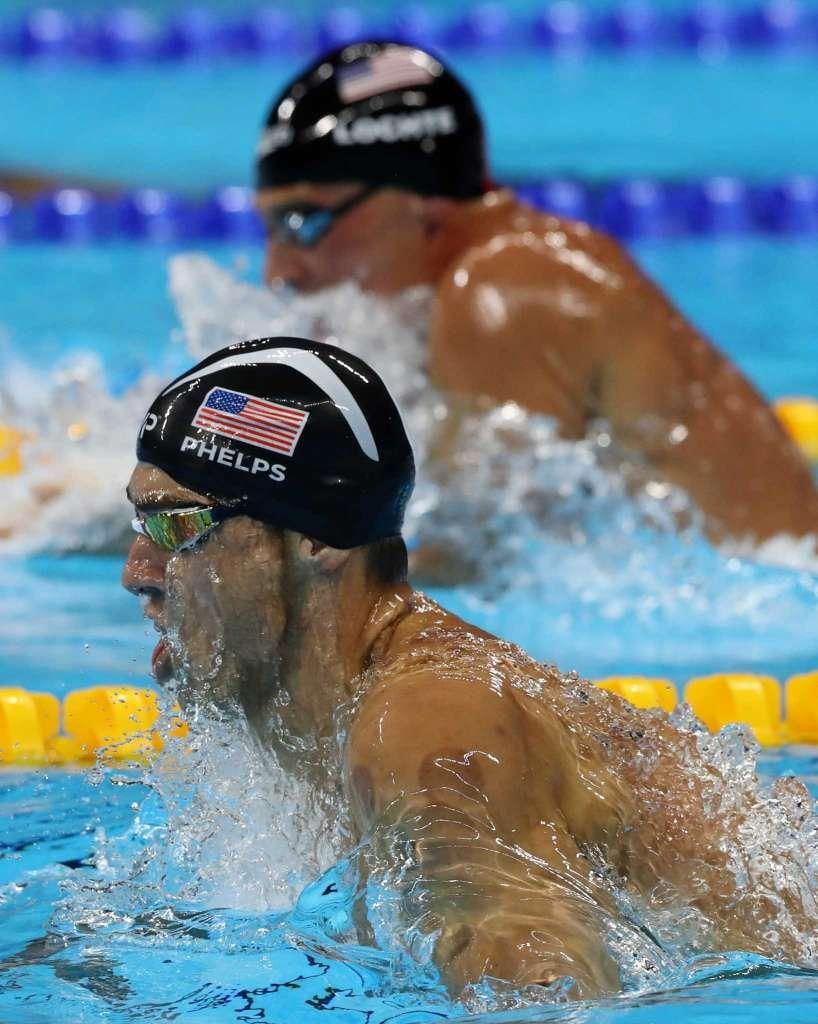 neon green nike shoes usa 2016 olympics swimming men's 4x100