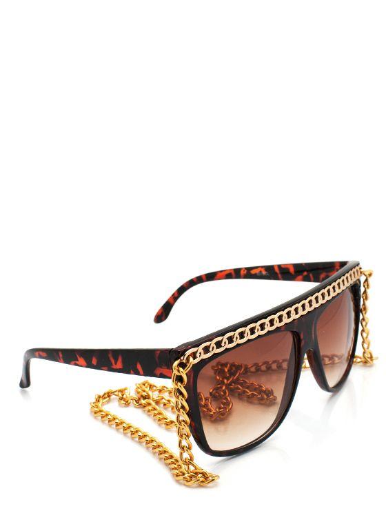 chain-link bridge sunglasses