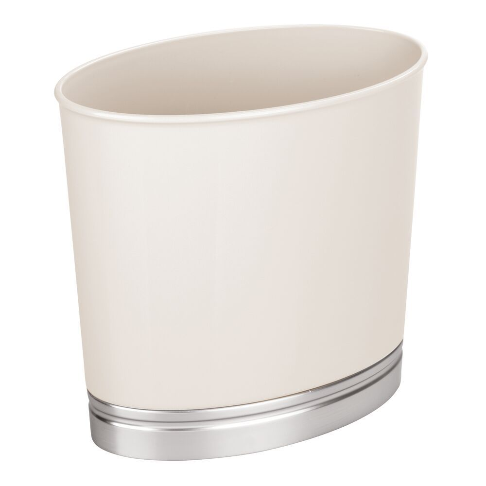 Small Slim Plastic Oval Trash Can Garbage Bin Garbage Containers