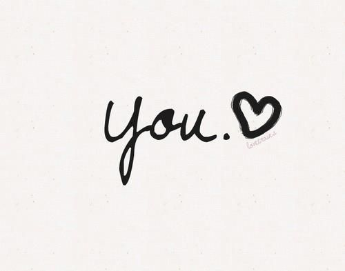 Only you :) X