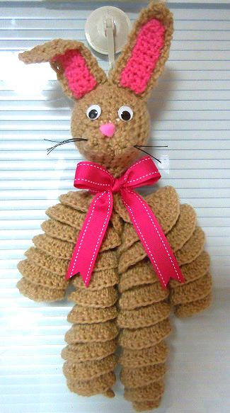 14 Free Easter Bunny Crochet Patterns