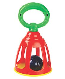 U.A. Bell Rattle - Green (Colors May Vary)