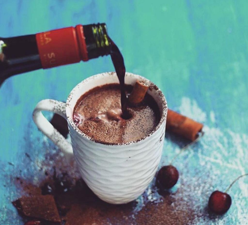 Müsst ihr probieren: Heiße Schokolade trifft Rotwein