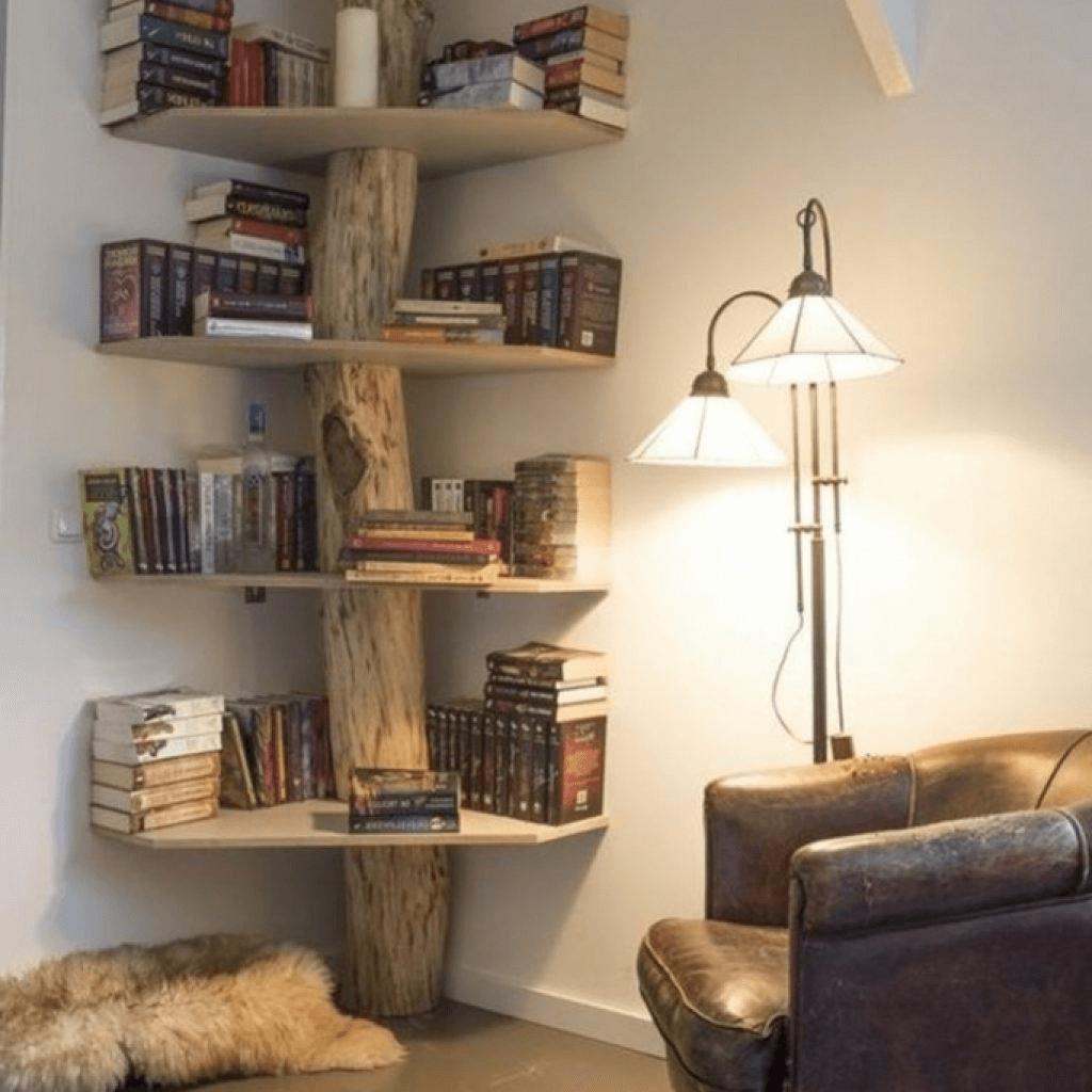 Tolle Ideen Wohnzimmer Dekoration Holz