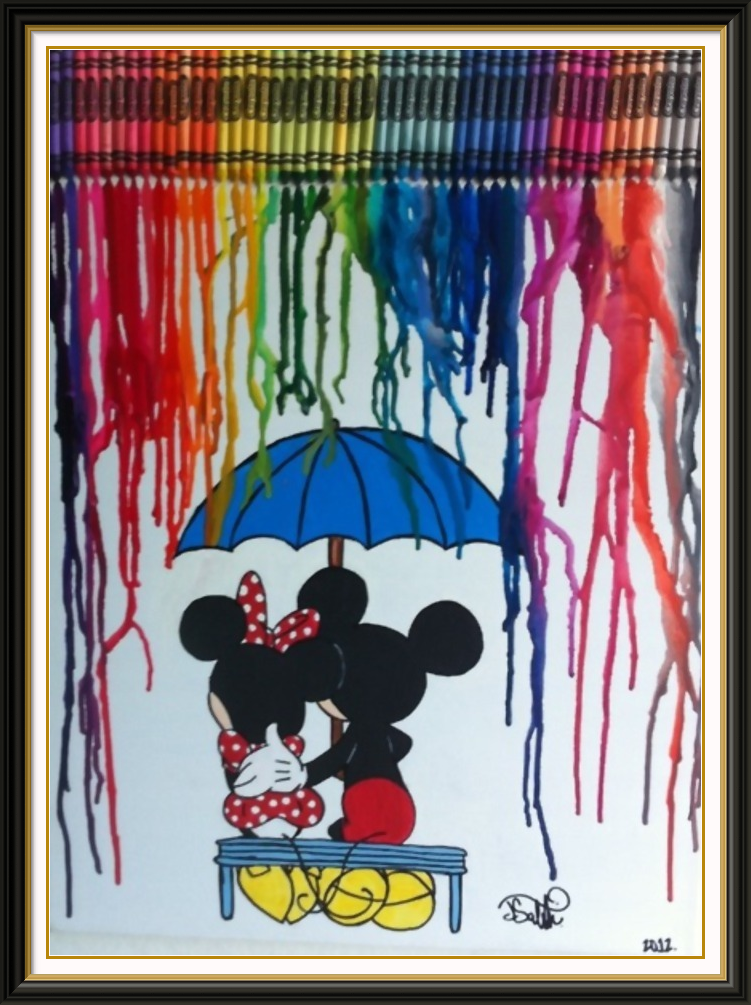 Disney crayon art | DISNEY NERD FOR LIFE♥ ºoº ♥ ºoº | Pinterest ...