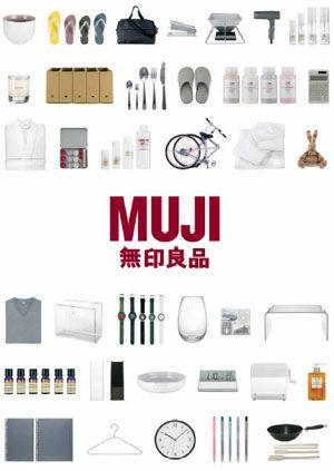Muji - natural and simple design.