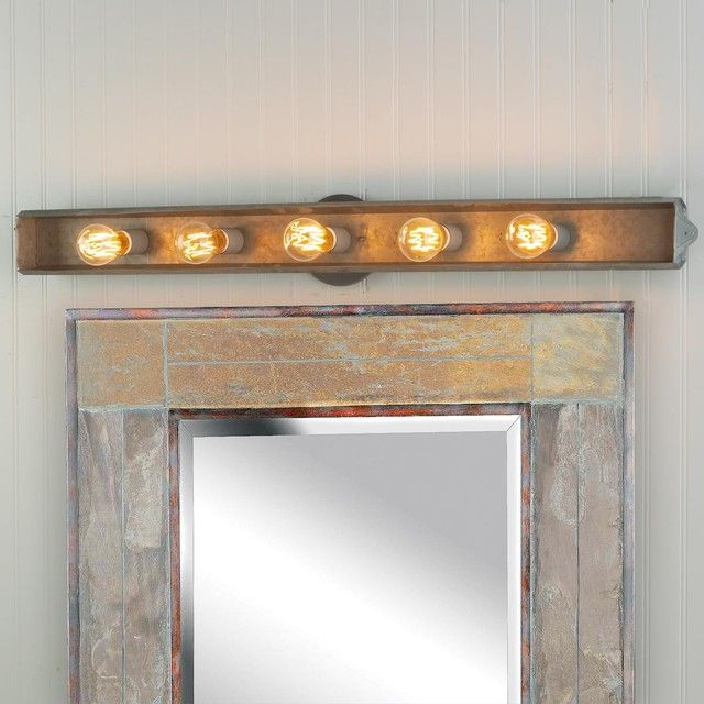 Bathroom Vanity Lighting galvanized rustic vanity light | lighting | pinterest | rustic