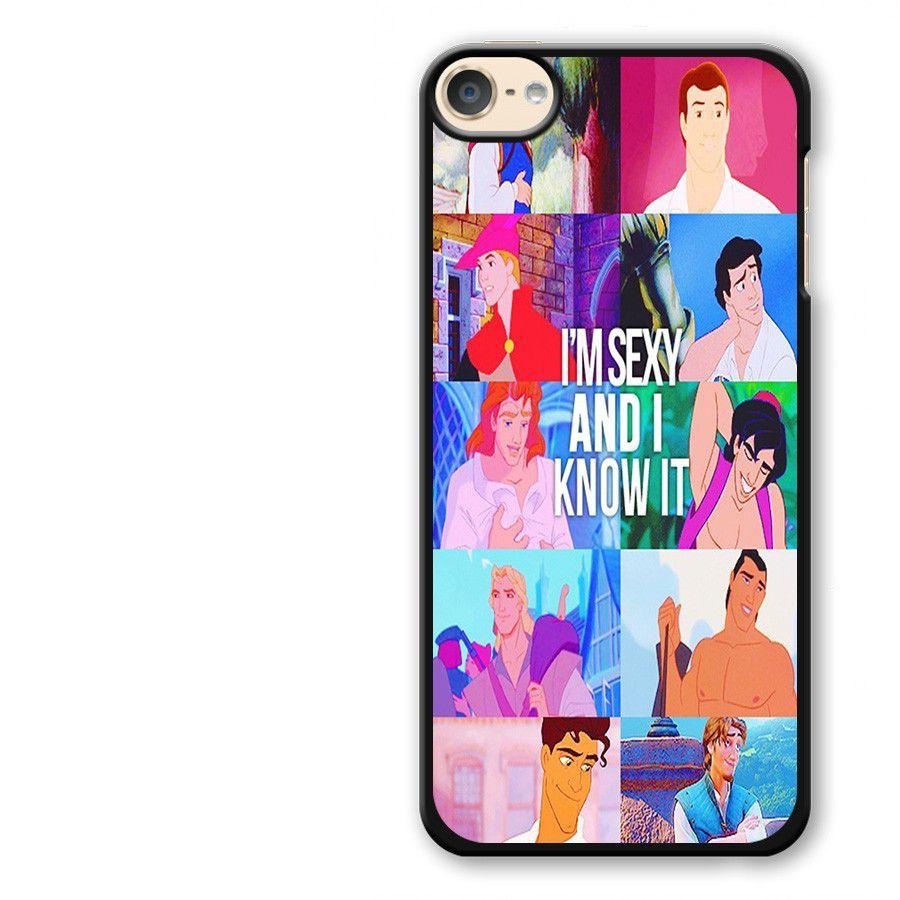 Disney Princes Men iPod Touch 6 Case