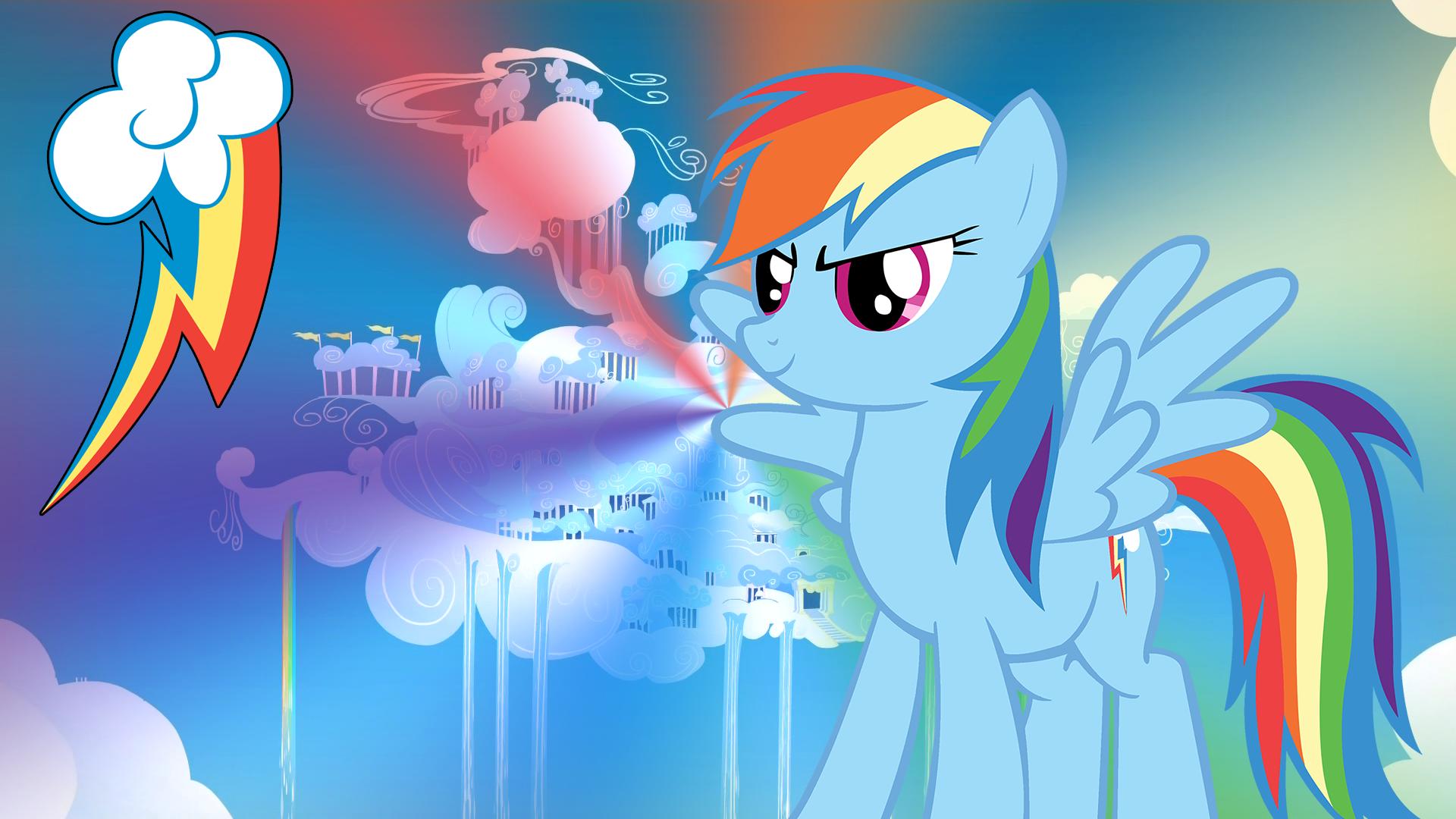 MLP Rainbow Dash Wallpaper Rainbow Dash My Little Pony