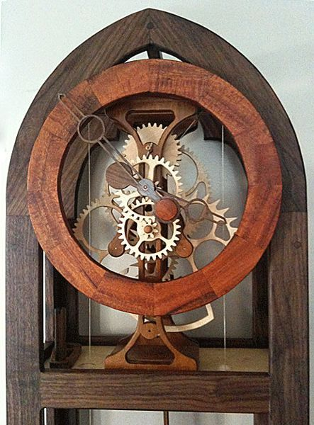 Free Wooden Gear Clock Plans Download Woodworking Projects Plans