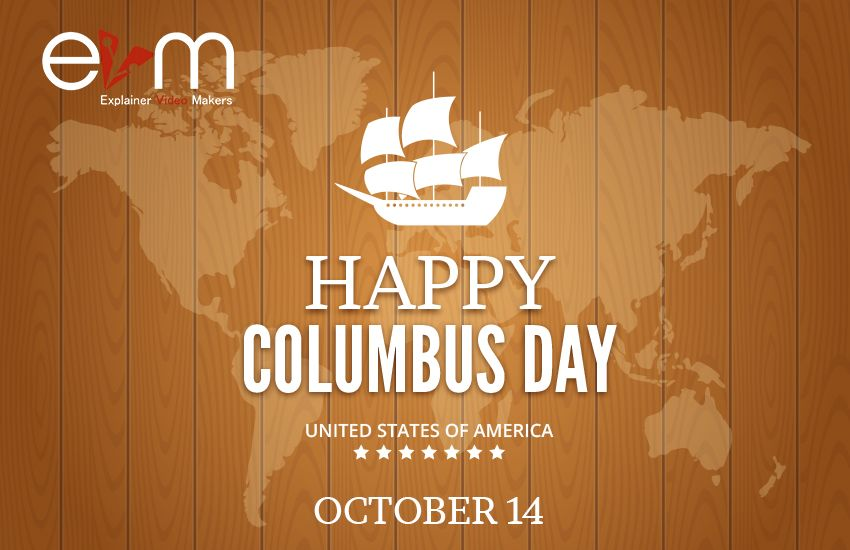 Second Monday In Oct Columbus Day Happy Columbus Day Day Columbus Day
