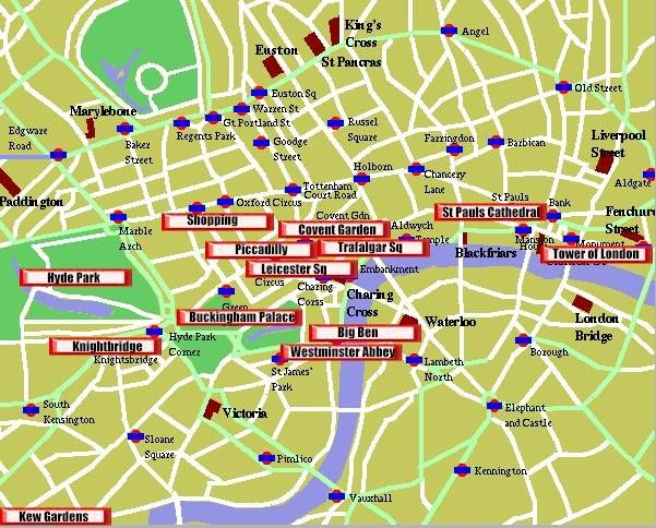 Maps Update 14001005 London England Street Map Maps Update – Map of London Uk