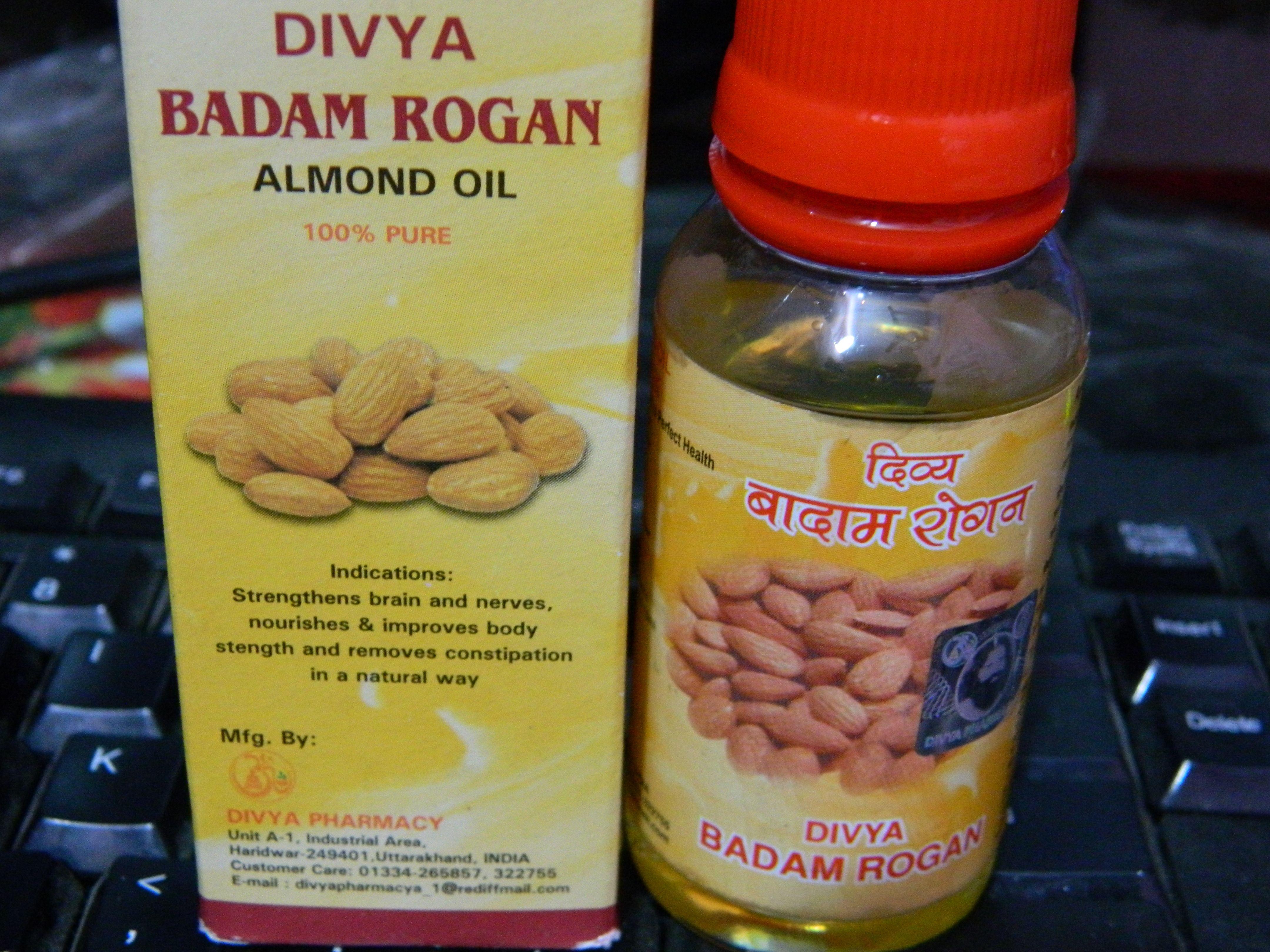 Patanjali Divya Badam Rogan Almond Oil Review Almond Oil Benefits Almond Oil Uses Almond Oil Face