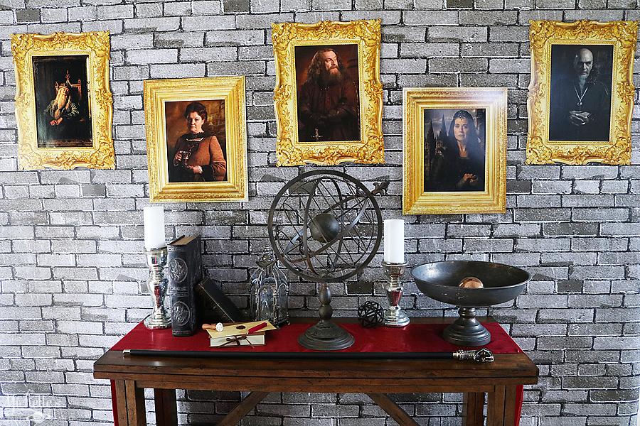 Hogwarts Inspired Diy Portrait Backdrop Whip It Up