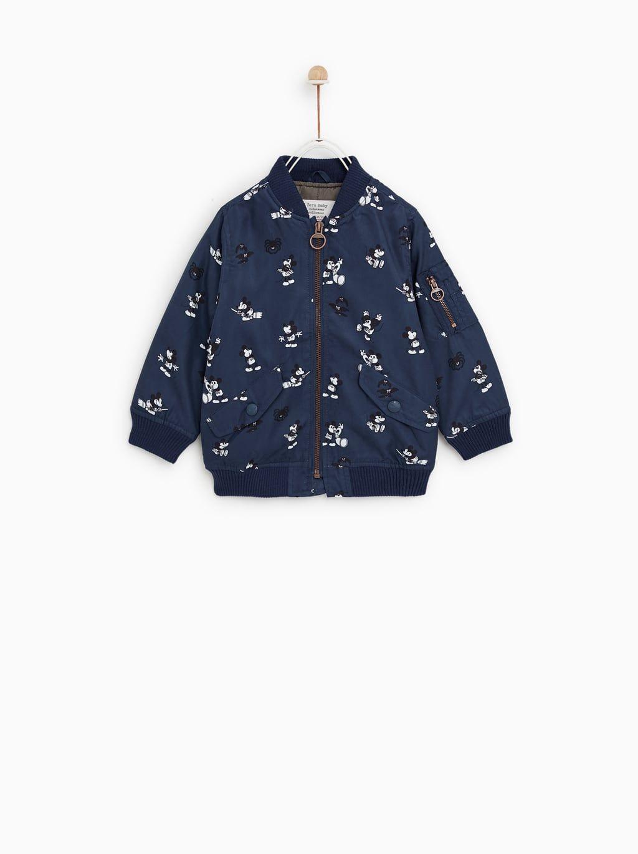 dc4743793 MICKEY MOUSE BOMBER JACKET - Jackets And Blazers-COATS-BABY BOY | 3 ...