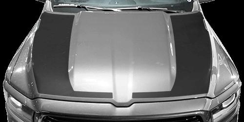 2019 2020 2021 Dodge Ram 1500 Hockey Stick Hood Blackout Stripes Vinyl Graphics Stripes Decals Kit Fits Tradesman Big Horn Lone Star Laramie Laramie Lo Dodge Ram 1500 Ram 1500 Dodge Ram