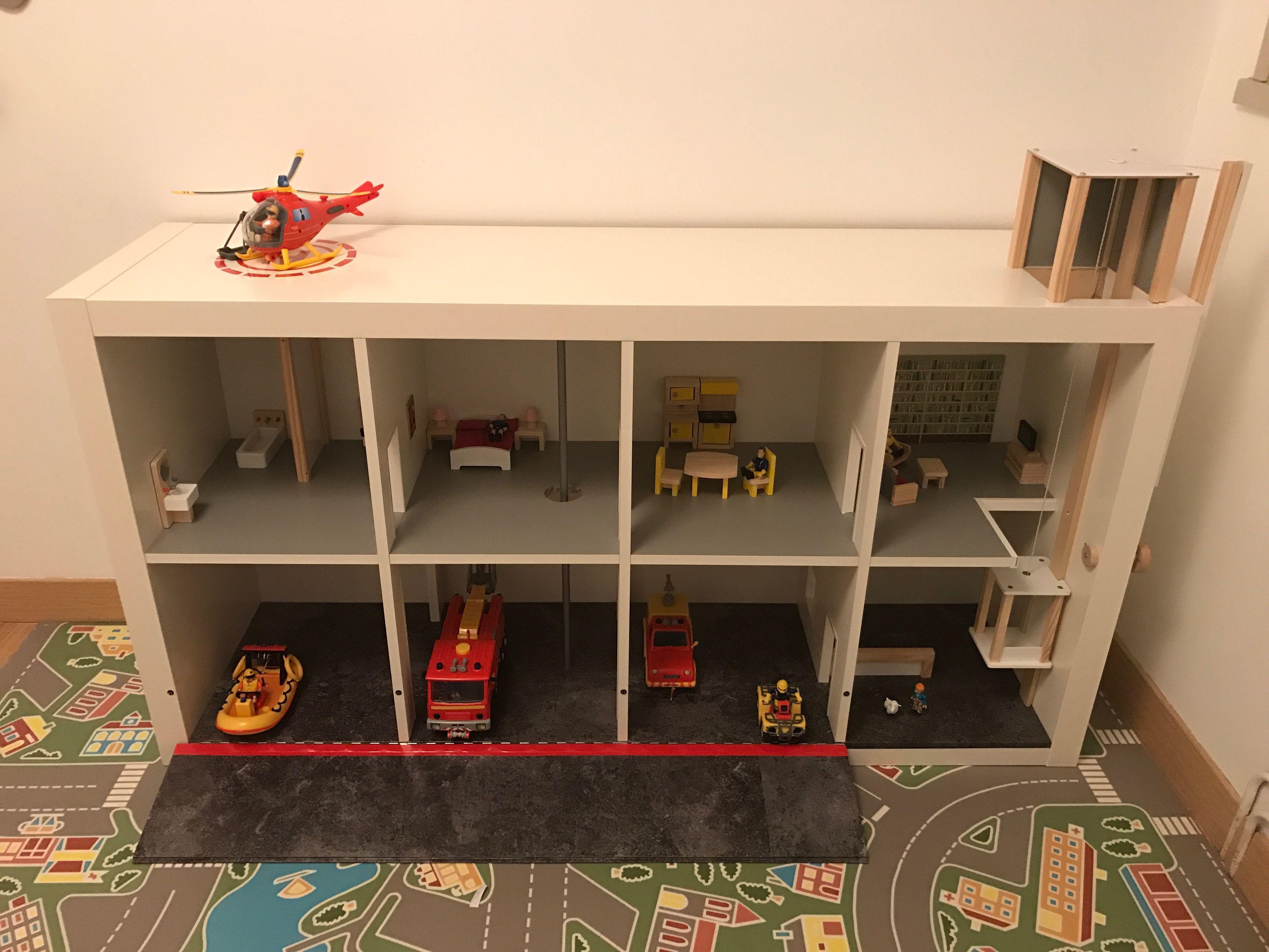 Caserne De Pompiers Partir Dun Meuble Ikea Et Dune Maison
