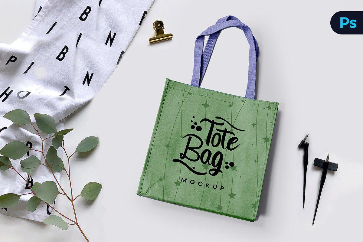 Download Non Woven Bag Mockup Bag Mockup Non Woven Bags Tote Bag