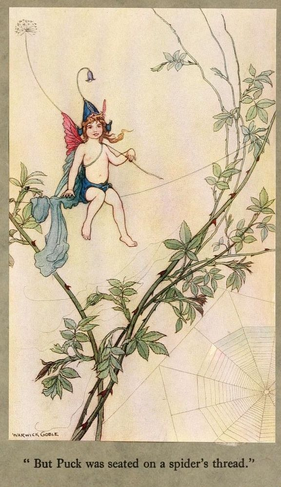 Book Of Fairy Poetry IX Warwick Goble 1920 Art Print A4 A3 A2 A1