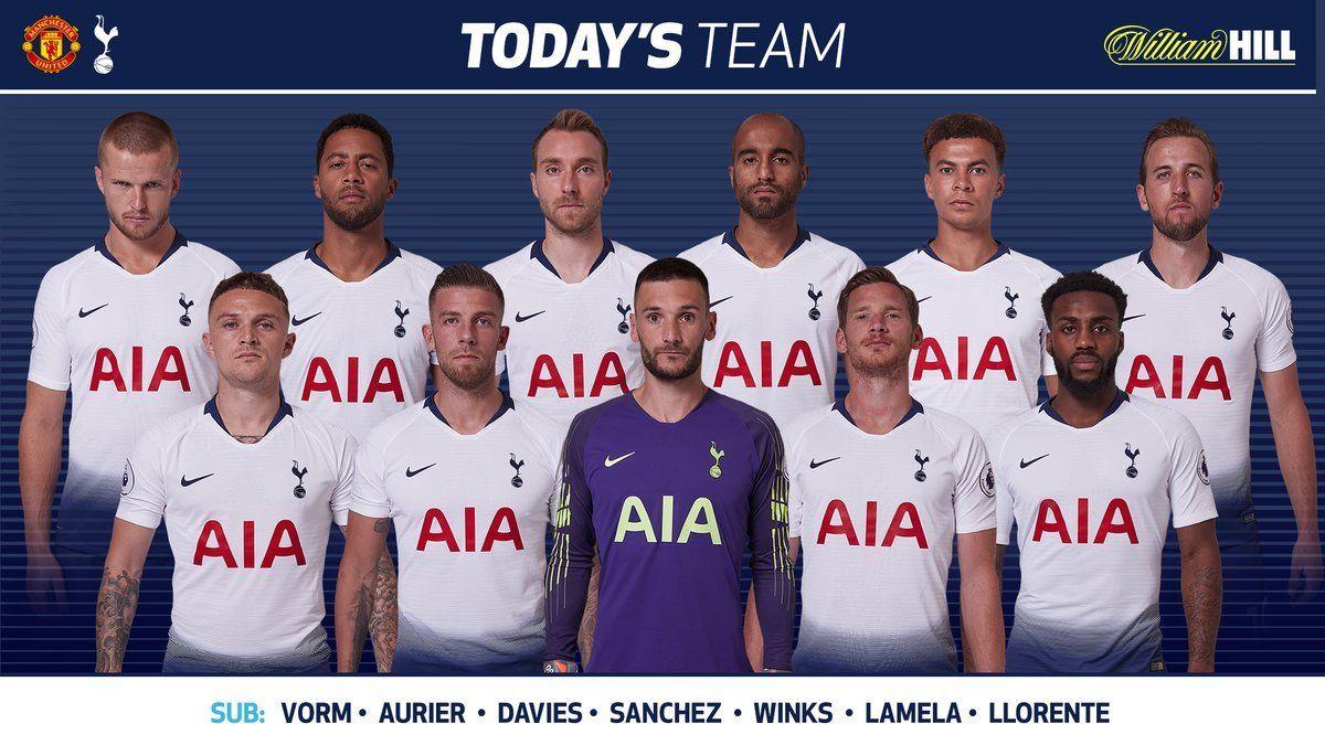 Live Stream Man Utd Vs Tottenham Hotspur Epl Match Day Premier League Football Tottenham Football