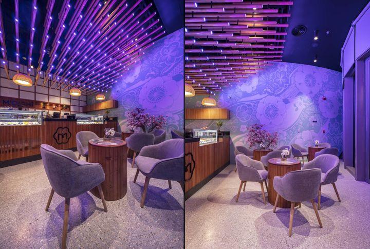 M Oishî Ice Cream Shop By 4space Dubai Terrazzo Terrazzo