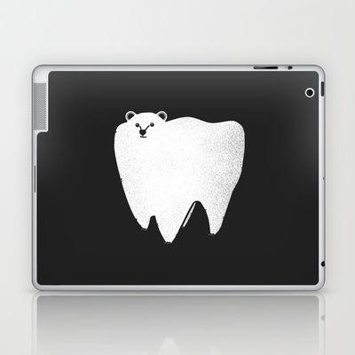Molar Bear Laptop & iPad Skin by Zach Terrell - $25.00