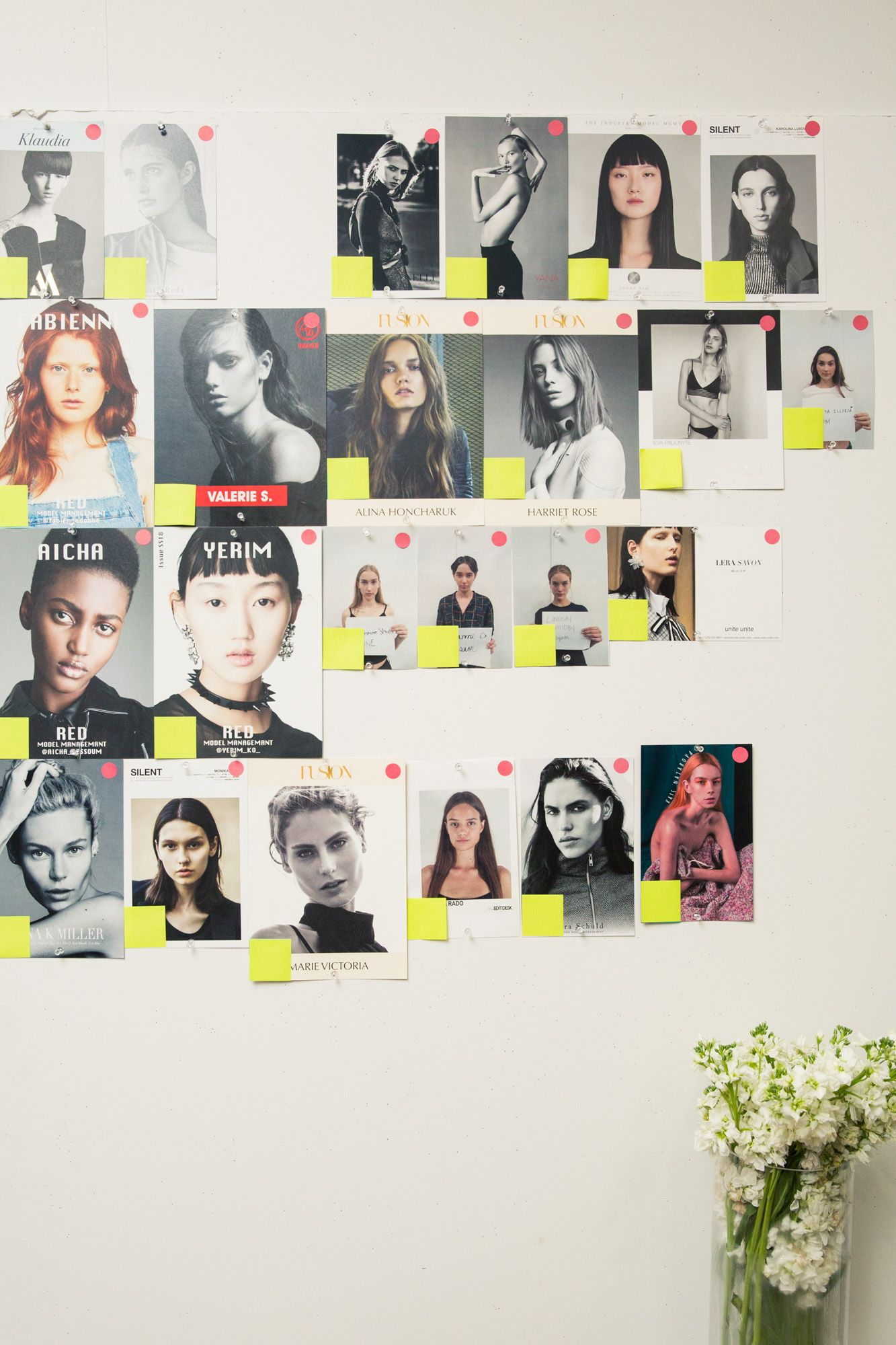 Our new favorite designer already has bella hadidus approval wall