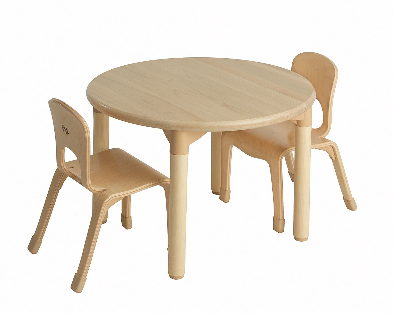 C233 Round Table 18 Inch And Two Chairs 10 Inch Chair Table Table And Chair Sets