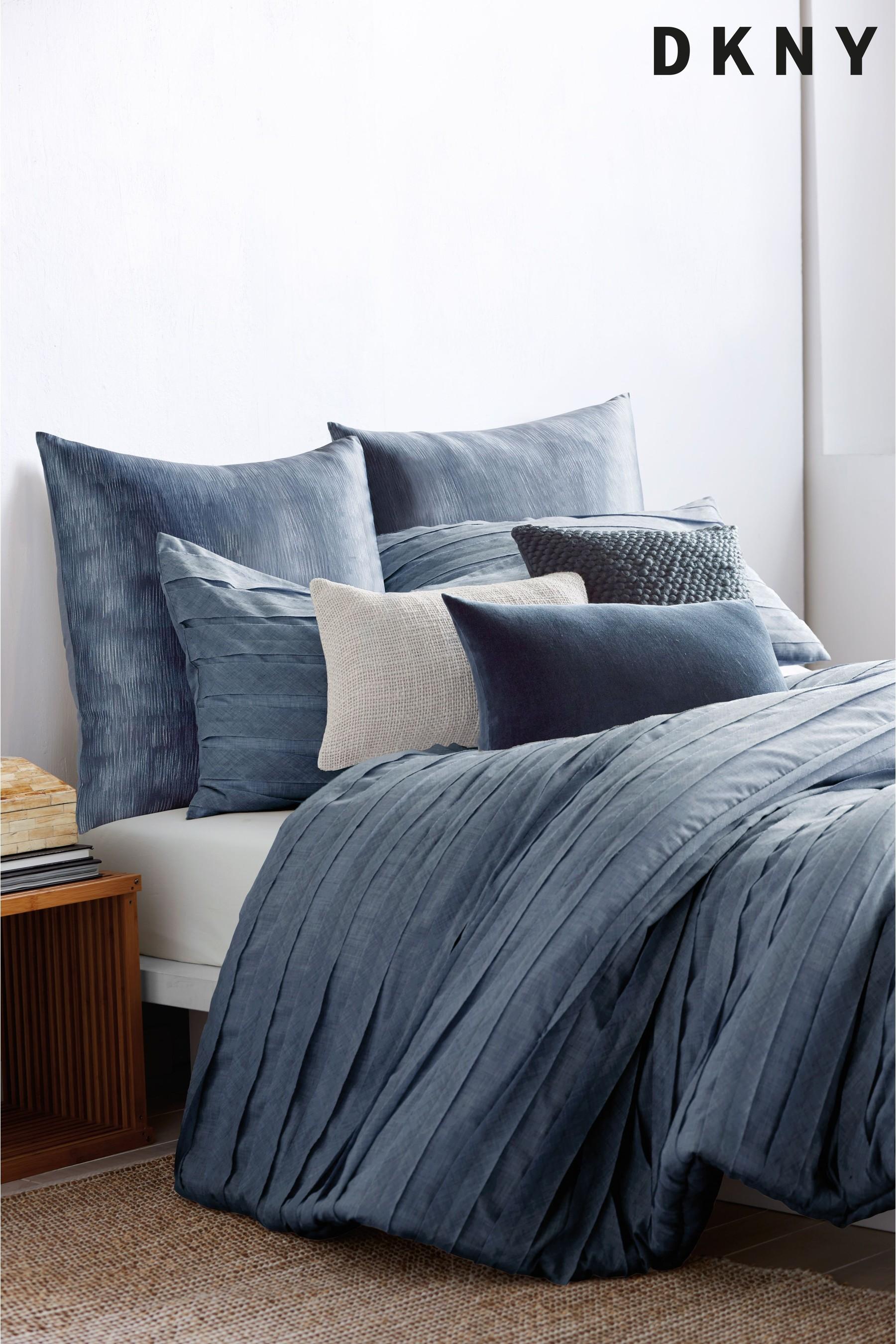 DKNY Loft Stripe Duvet Cover Blue in 2019 Duvet