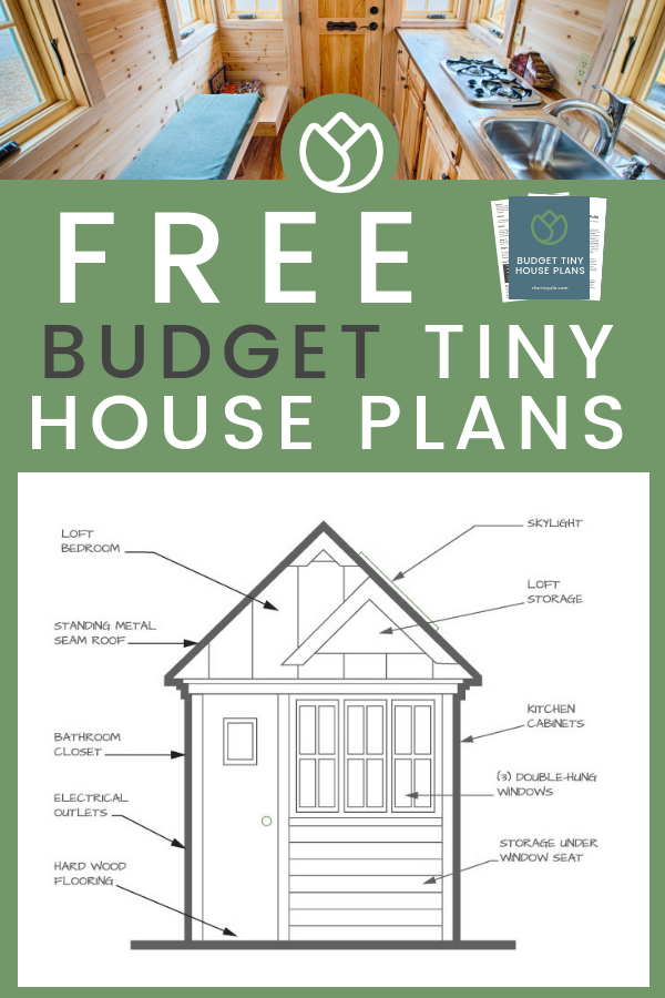 Budget Tiny House Free Plans The Tiny Life Tiny House Plans Tiny House Floor Plans Tiny House Inspiration