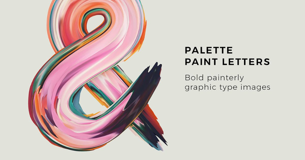 Download Palette Paint Letters Graphics by rhett