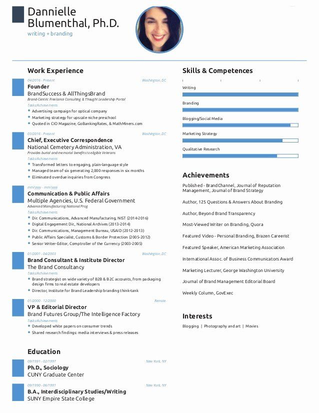 One Page Resume Examples Unique E Page Resume Created With Free Novoresume Template