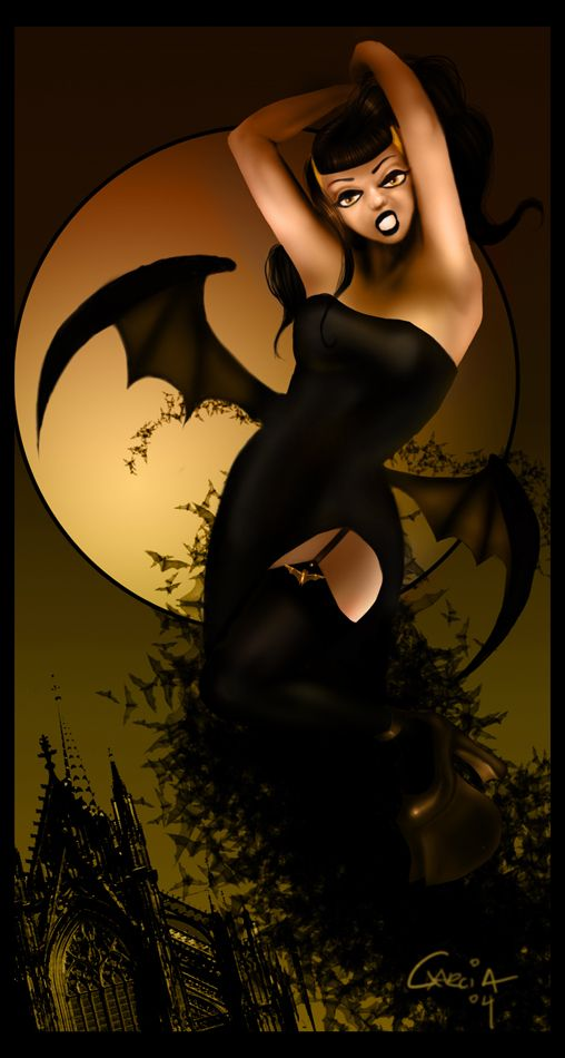 Cute Succubus by Tingsay on DeviantArt