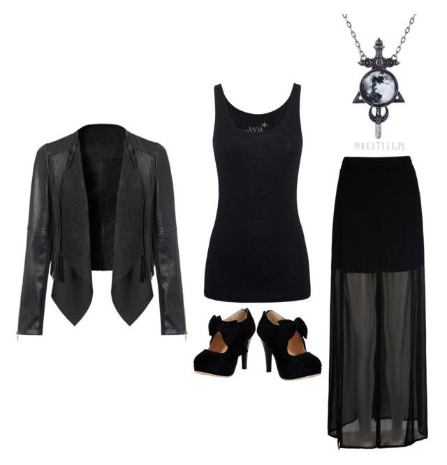 """""""Outfit Idea by Polyvore Remix"""" by polyvore-remix ❤ liked on Polyvore featuring Mela Loves London and Juvia"""