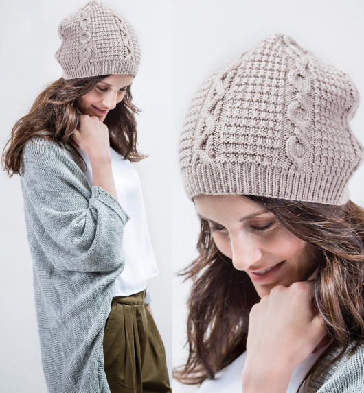 cable hat1 Домоседка | Knit and crochet hats | Pinterest | Gorros