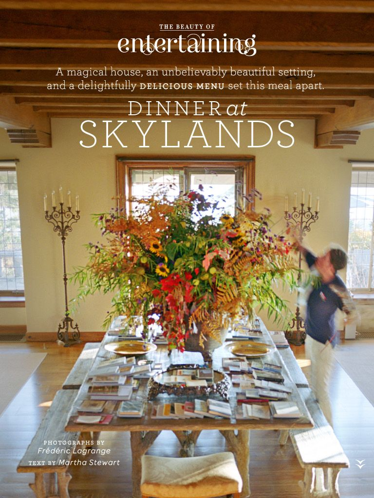 Martha Stewarts Home In Maine Skylands Decor Ideas Pinterest - Martha stewart dining room table