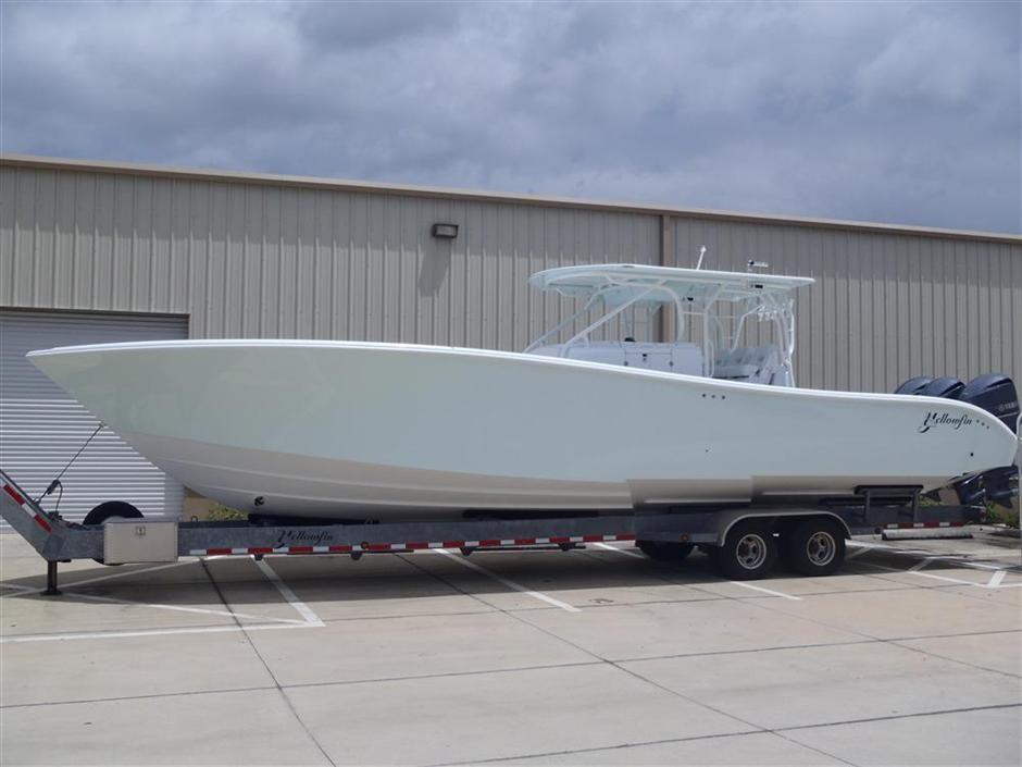 PreOwned 42', 36', and 32' Yellowfin Yachts For Sale